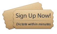 Sign up for Dictation Service Now - Ready to transcribe in minutes!